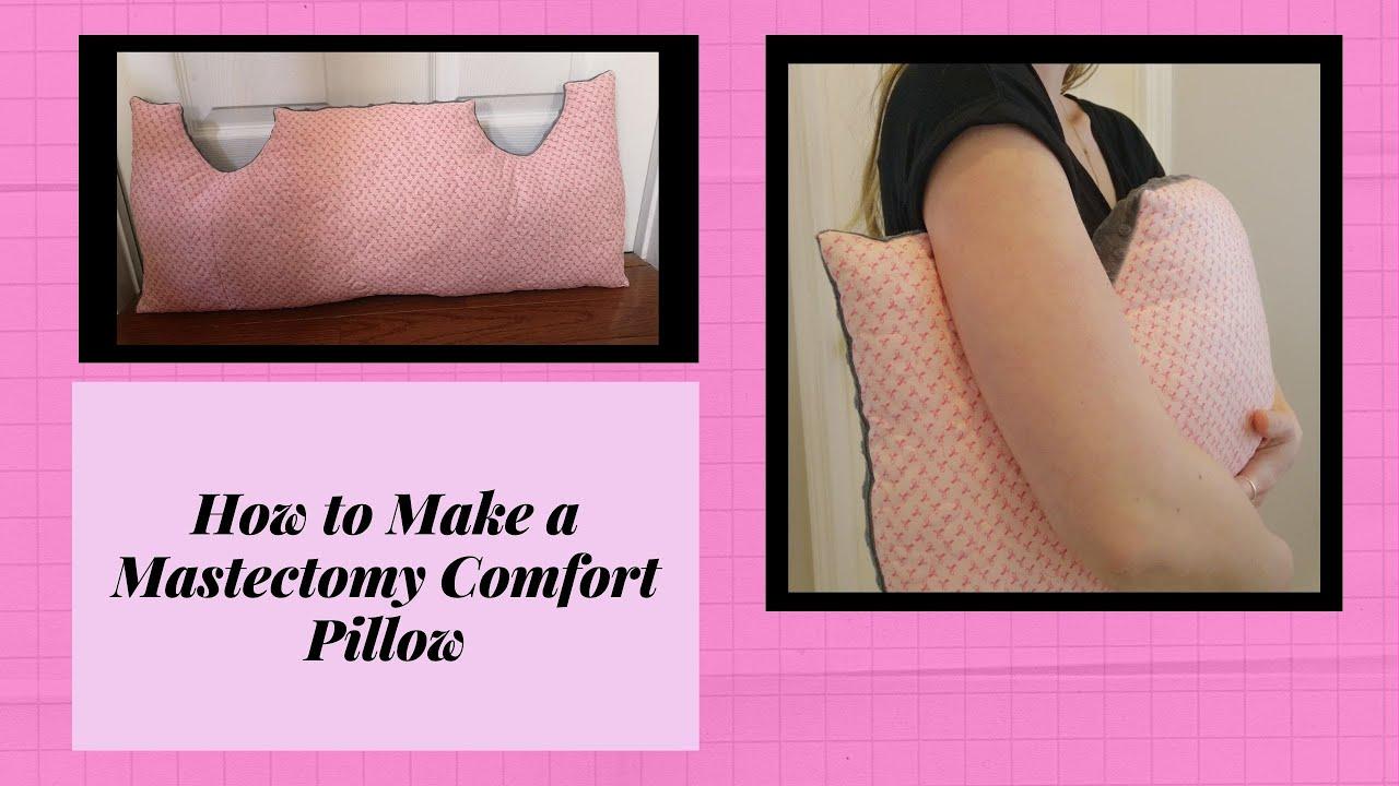 diy double mastectomy pillow chest surgery comfort pillow