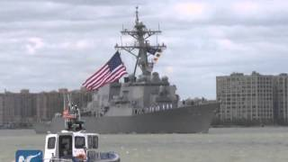 2015 Fleet Week opens with ship parade