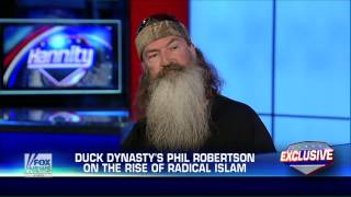 America : Duck Dynasty Phil Robertson discusses how he would deal with