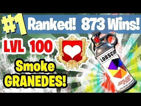 #1 WORLD RANKED - 873 WINS - NEW UPDATE - SMOKE GRENADES -FORTNITE BATTLE ROYALE LIVESTREAM
