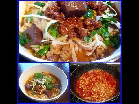 Kasoy Meat Sauce  (Khaosoy, kaosoy, kasoi, kowhsoy)