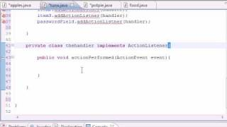 Java Programming Tutorial - 53 - ActionListner