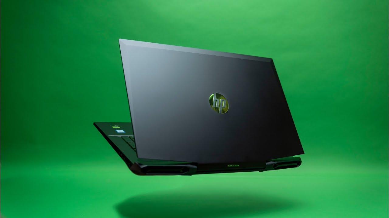A Quiet Gaming Laptop Hp Pavilion 17 Youtube