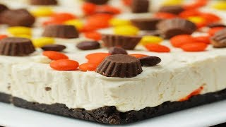 No-Bake Chocolate Peanut Butter Cheesecake Bars