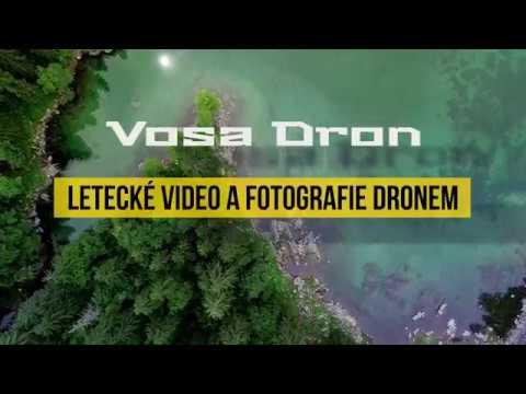 Letecká videa a fotografie dronem - Vosa Dron