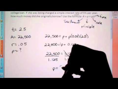 Formulas and problem solving