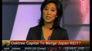 Oaktree Capital To Merge Japan REIT? - Bloomberg