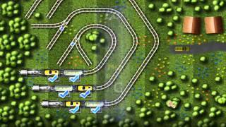 Railroad Shunting Puzzle 2 walkthrough part 1 by Vifer