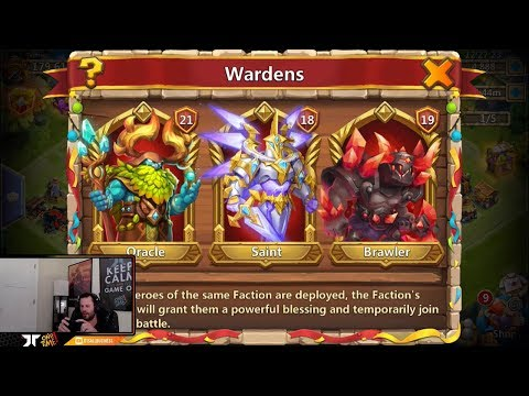 New Update Lets Talk About WARDENS Castle Clash