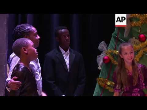 "Kenyan teenager escapes slums to ballet stage and solo in ""The Nutcracker"""
