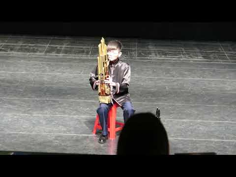 嘉義縣108學年度學生音樂比賽高中職B組笙獨奏優等第一(吳祐霆)