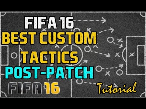 FIFA 16 BEST FORMATIONS AFTER THE PATCH BEST