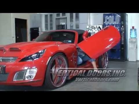 ZLR Door Conversion Kit For Saturn Sky And Pontiac Solstice