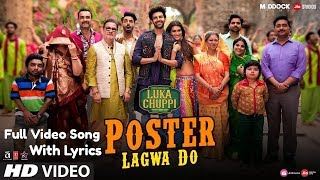 Luka Chuppi: Poster Lagwa Do Bazar Mein Lyrics Full Video Song | Kartik , Kriti | Mika, Sunanda