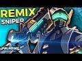 NEW REMIX STRIX SKIN! Best Sniper In Paladins! Unauthorized Use Strix Gameplay! (Paladins 1.8)