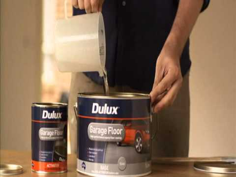 dulux garage floor kit instructions