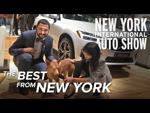 The Best Cars of the 2018 New York Auto Show