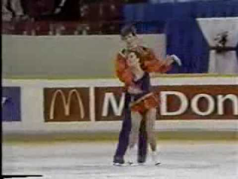 Pal & Godfrey (CAN) - 1987 World Juniors, Ice Dancing, Free Dance