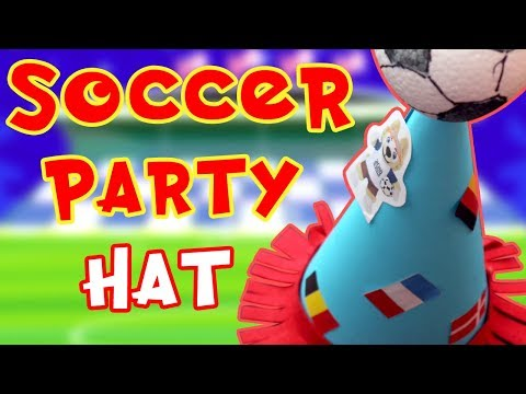 How  to Make Cone Hat | DIY Party Hats |  Soccer Cap | Art and Craft