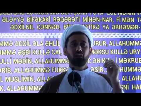 Haci Rza Cumə xutbəsi ( Ramazan ayi) 18.05.2018