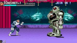 [T.A.S] Punisher Arcade Game: Full Ending SpeedRun #StayHome [4K UHD 60fps]