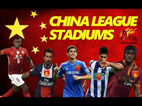 Chinese Super League Stadiums 2017
