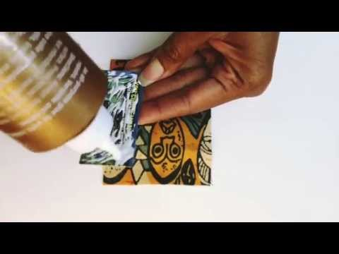 DIY How to Make Paper Earrings -Eco Jewelry