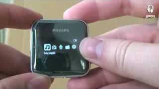 Review Philips Gogear SA2825 by generationmp3.com