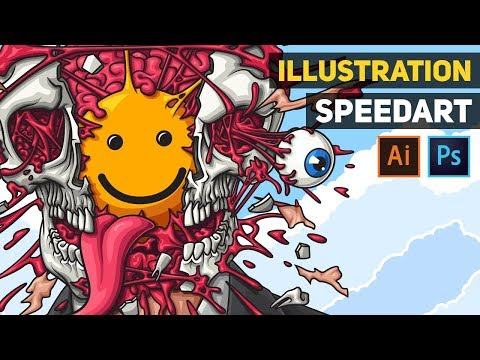 Mind blown - Illustration (Speed Art)
