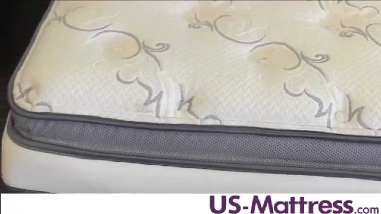 simmons beautyrest recharge lydia manor luxury firm pillow top mattress youtube