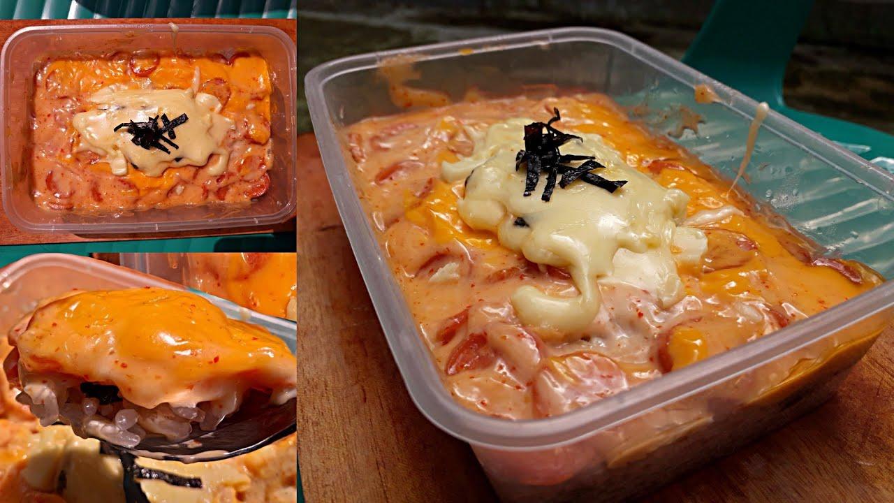Mentai Shirataki Mentai Untuk Diet Chicken Mentai Shirataki Rice Youtube