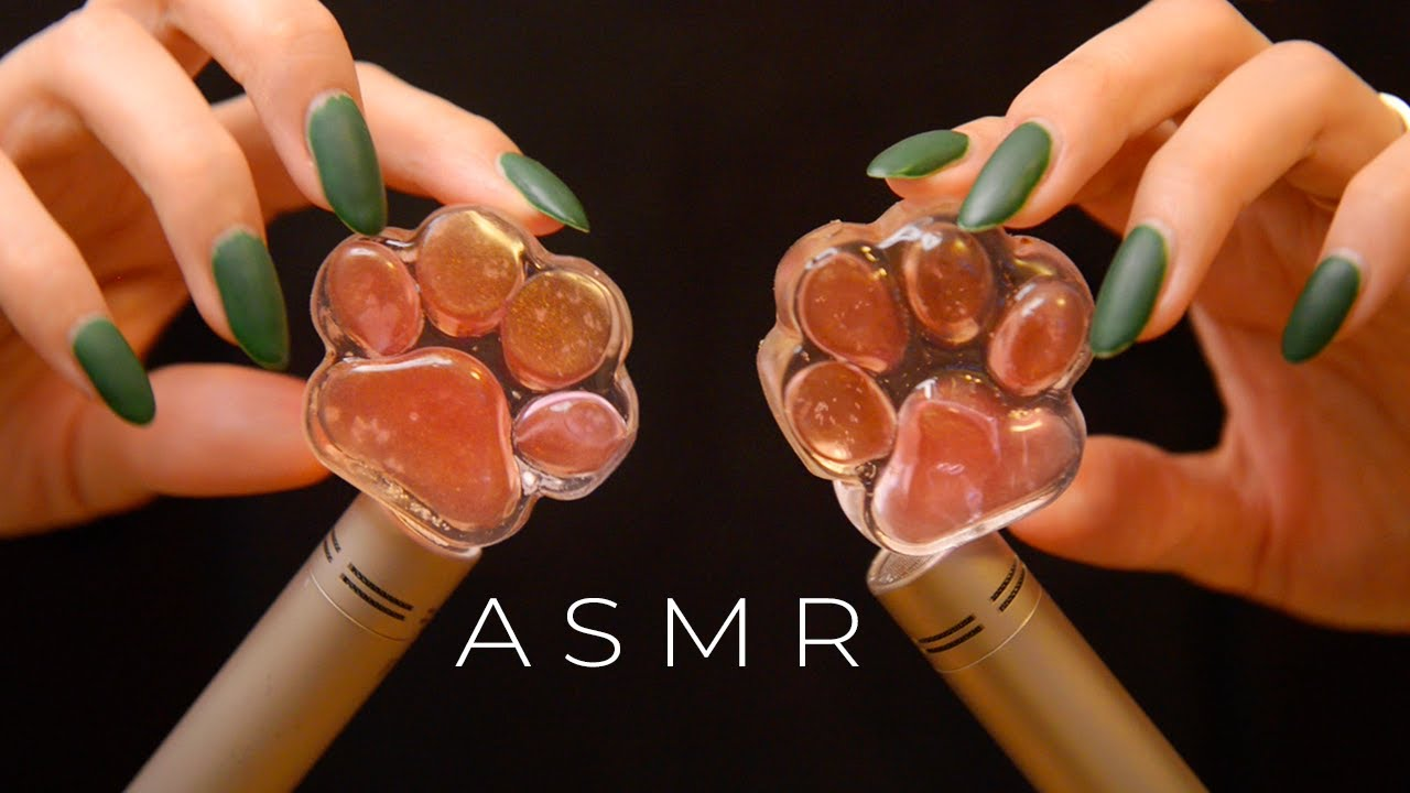 ASMR All Up In Your Ears Binaural Stimulation (No Talking)