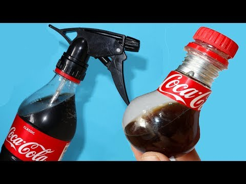 11 COCA COLA LIFE HACKS AND DIY IDEAS