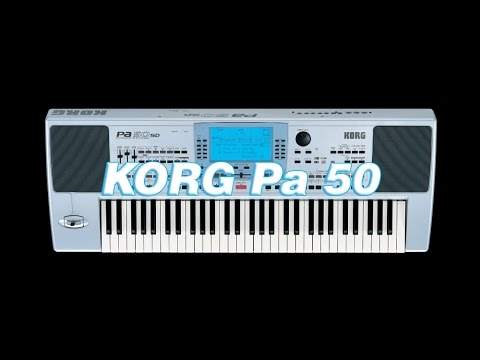 Korg pa50 DEMO FACTORY SOUND