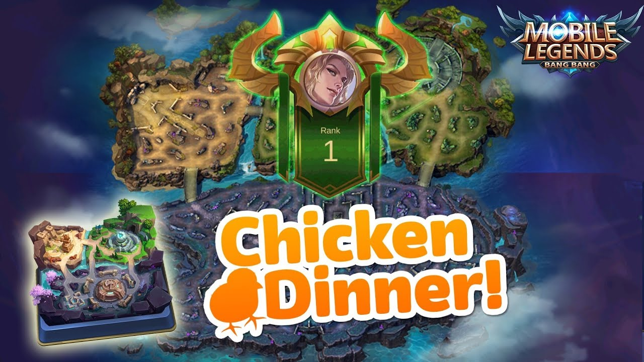 YOSH! AKHIRNYA DAPAT CHICKEN DINNER DI MODE SURVIVAL MOBILE LEGENDS