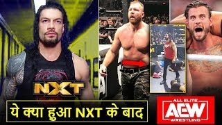 Roman Reigns NXT Backstage, Off-Air NXT, Jon Moxley RISK*, CM Punk Ratings Backstage, AEW Highlights