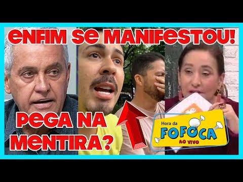 """""""A Tarde é Sua"""" Expõe """"mentira"""" De Carlinhos Maia + Mauro Naves Quebra O Silêncio Sobre Caso Neymar"""