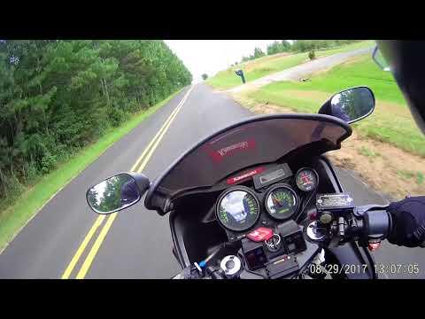 Kawasaki GPz750 Turbo Ride Along