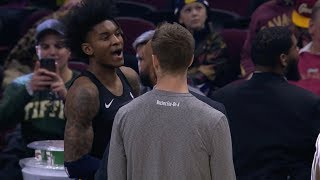 Kevin Porter Jr Forgets Jersey And Misses Start Of The Game Youtube