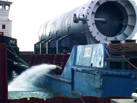 реакторы 1300 тонн на Туапсинский НПЗ