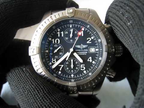 buy popular 53903 642d9 Breitling Chrono Avenger Ti Chronometre Chronograph 45mm E13360. Serial  54828x Function Testing