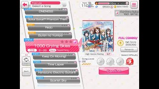 Gambar cover BanG Dream (EN): 1000 Crying Skies [FC] (Expert 26, Poppin' Party)