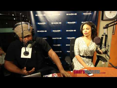 Sanaa Lathan and Sway Act Out a Love Scene on Sway In The Morning