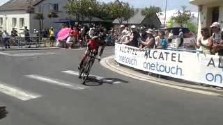 Tour de France 10 juillet 2013 à st Quentin Sur Le Homme -11ème étape
