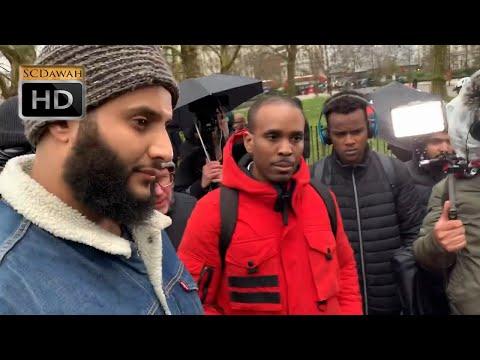Weak Claims! Muhammad Hijab & Christians | Speakers Corner | Hyde Park