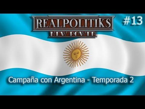 Realpolitiks New Power con Argentina #13 - Guerra con Brasil