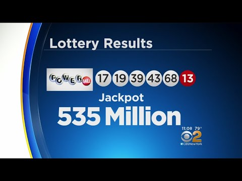 Winning Numbers In $535M Power powerball winning numbers