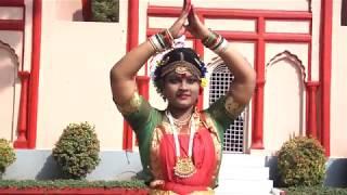 Bangla Bharatnatyam Song with Dance Performance .