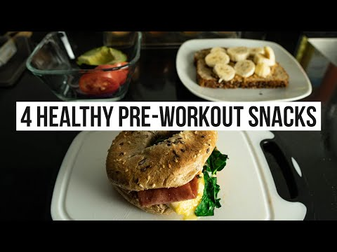 4 Healthy Pre-Workout Snack | Gym Nutrition