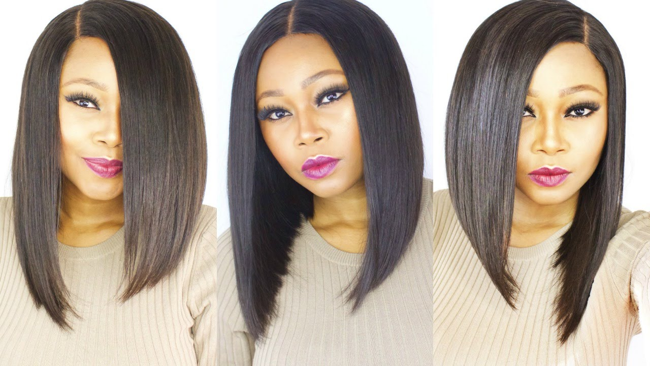 blunt cut haircuts how to make cut a versatile bob wig start to finish 5246 | maxresdefault